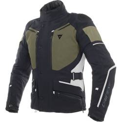 CHAQUETA DAINESE CARVE MASTER 2 GORE-TEX NEGRO/GRAPE-LEAF/LIGHT-GRAY