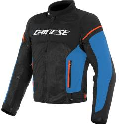 CHAQUETA DAINESE AIR-FRAME D1 PERFORADA BLACK/BLUE/RED