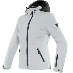 CHAQUETA DAINESE MAYFAIR D-DRY LADY GLACIER-GRAY/BLACK