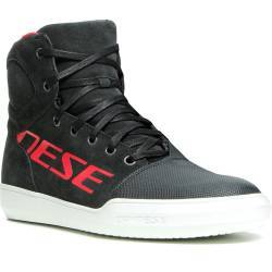 ZAPATILLAS DAINESE YORK LADY D-WP DARK-CARBON/RED