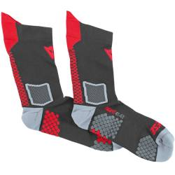 CALCETINES TERMICOS DAINESE D-CORE MID SHOCK ROJOS
