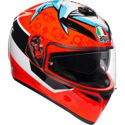 CASCO AGV K-3 SV ATTACK SHARK