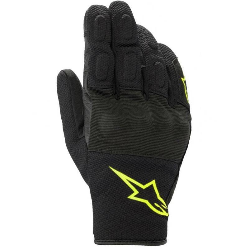 S Alpinestars Guantes de moto S Max Drystar Negro Amarillo Fluo Negro//Amarillo//FLUO