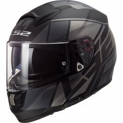 CASCO LS2 VECTOR FT2 KRIPTON NEGRO MATE