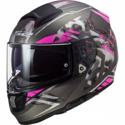 CASCO LS2 VECTOR FT2 STENCIL FUCSIA