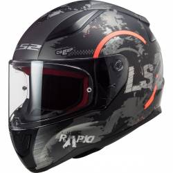 CASCO LS2 RAPID CIRCLE TITANIUM