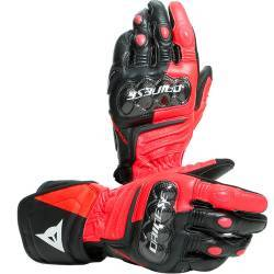 GUANTES DAINESE CARBON 3 LONG BLACK/FLUO-RED/WHITE