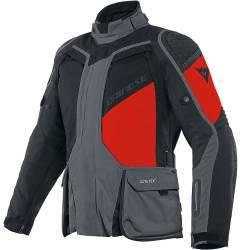 CHAQUETA DAINESE D-EXPLORER 2 GORE-TEX EBONY/BLACK/LAVA-RED