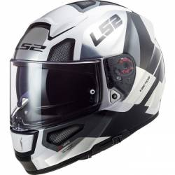 CASCO LS2 VECTOR FT2 AUTOMAT BLANCO/TITANIO