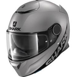 CASCO SHARK SPARTAN 1.2 GRIS MATE AMA
