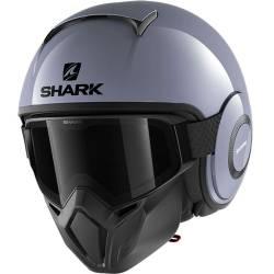 CASCO SHARK STREET-DRAK GRIS NARDO S01