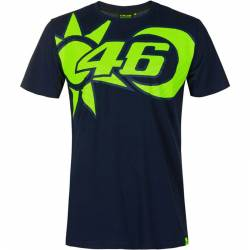 CAMISETA VR46 REPLICA CASCO SOLE E LUNA