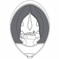 CARRILLERAS CASCO AGV COMPACT ST (M)