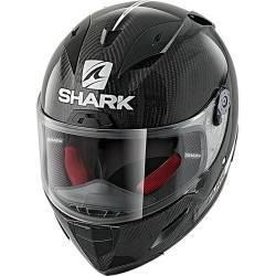 CASCO SHARK RACE-R PRO CARBON SKIN CARBONO BRILLO DWK