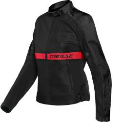 CHAQUETA DAINESE RIBELLE AIR LADY NEGRO/ROJO