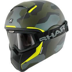 CASCO SHARK VANCORE WIPEOUT VERDE