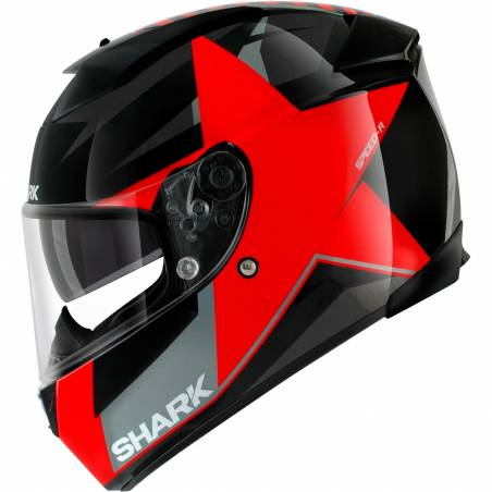 CASCO SHARK SPEED-R TEXAS ROJO
