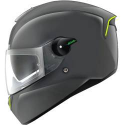 CASCO SHARK SKWAL TITANIO (CON LED)