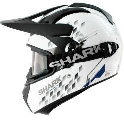 CASCO SHARK EXPLORE-R ARACHNEUS BLANCO