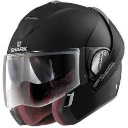 CASCO SHARK EVOLINE SERIE-3 NEGRO MATE
