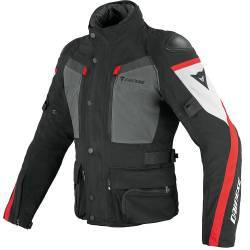 CHAQUETA DAINESE CARVE MASTER GORE-TEX NGR/RJA