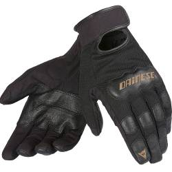 GUANTES DAINESE DOUBLE DOWN UNISEX PERFORADOS NGR