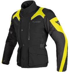 CHAQUETA DAINESE TEMPEST D-DRY LADY NEGRO/AMARILLO