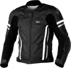 CHAQUETA AXO SBK LEATHER NEGRO
