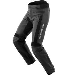 PANTALONES SPIDI TEKER LEATHER NEGRO