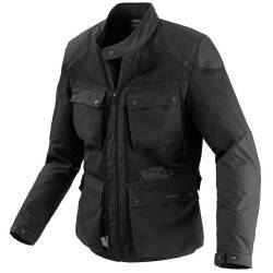 CHAQUETA SPIDI PLENAIR TEX ULTRAPERFORADA NEGRO