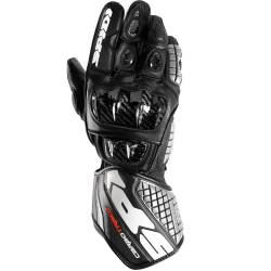 GUANTES SPIDI CARBO TRACK LEATHER NEGRO