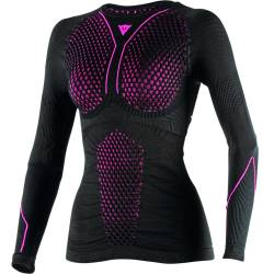 CAMISETA TERMICA DAINESE D-CORE THERMO TEE LS LADY NGR/FUS