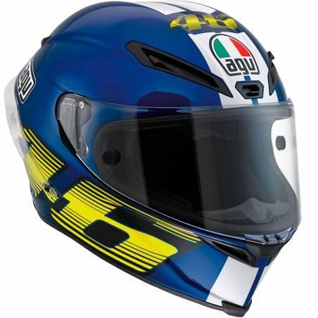 CASCO AGV CORSA ROSSI V46 BLUE
