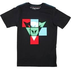 CAMISETA DAINESE ANDY INFANTIL NEGRA