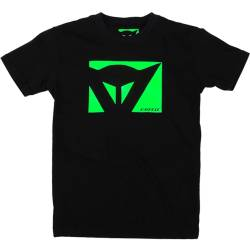 CAMISETA DAINESE COLOR NEW KID NEGRO/VERDE