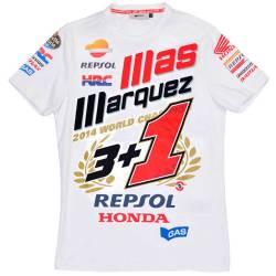 CAMISETA MARC MARQUEZ 3+1