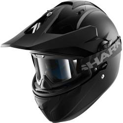 CASCO SHARK EXPLORE-R NEGRO MATE