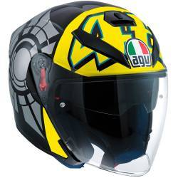 CASCO AGV K-5 JET WINTER TEST 2012