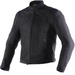 CHAQUETA DAINESE AIR-FLUX D1 TEX PERFORADA NEGRO