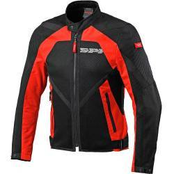 CHAQUETA SPIDI NETSTREAM PERFORADA ROJA