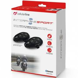 INTERCOMUNICADOR CELLULAR LINE SPORT PACK2