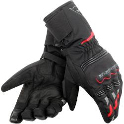 GUANTES DAINESE TEMPEST UNISEX D-DRY LONG ROJO