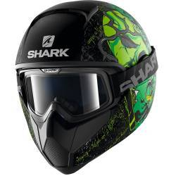 CASCO SHARK VANCORE ASHTAN VERDE MATE KGG