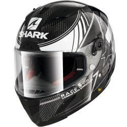CASCO SHARK RACE-R PRO CARBON KOLOV BLANCO DWK