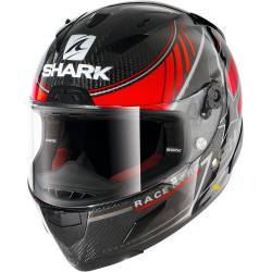 CASCO SHARK RACE-R PRO CARBON KOLOV ROJO DRS
