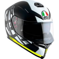CASCO AGV K-5 S DARKSTORM MATE AMARILLO