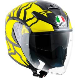 CASCO AGV K-5 JET WINTER TEST 2011