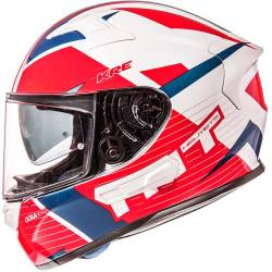 CASCO MT KRE SV ROAD ROJO