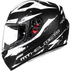 CASCO MT MUGELLO VAPOR BLANCO