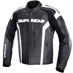 CHAQUETA SPIDI RR LEATHER NEGRA